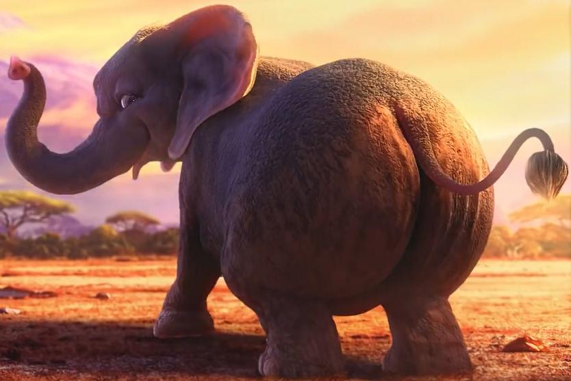 Miley Cyrus The Elephant