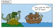 Noah's Ark The Three Dinosaurs
