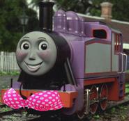 Rosie wearing a bikini top (model series)