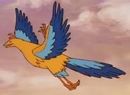 Simba the king lion bird-like dinosaur
