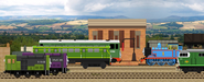 Thomas and the friendly diesels by originalthomasfan89-d5tmq6q