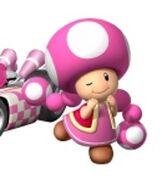 Toadette in Mario Kart Wii