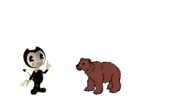 Bendy Meets Grizzly Bear