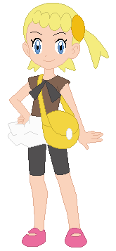 Bonnie (We're Here at the Poké-World from Rosemary Hills)