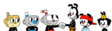 Cuphead mugman ms chalice meets the warners by marcospower1996-dckbnqf
