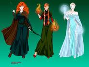 Disney Princess Superheroes 4