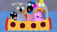 Dumbo, Jewel, Leena, Nigel and Gloria as Baby Noah Animals Puppet