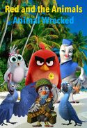 Red and the Animals- Animal Wrecked Poster