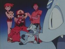 Ash and Friends Torture Meowth.jpg