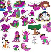 Barney's Special Powers(Seasons 1-3)