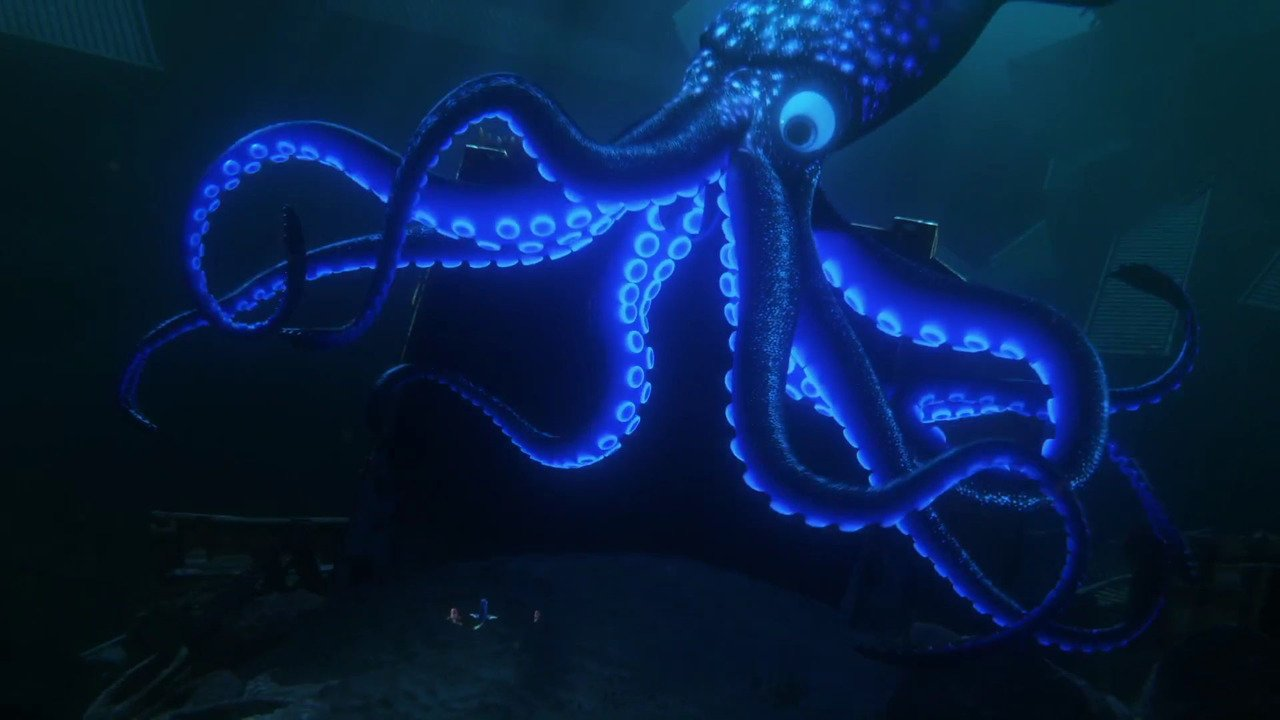 Giant Squid (Finding Dory)