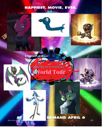 Mythical Creatures World Tour Poster
