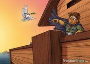 Noah's Ark In the Dark Doves