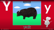 Nursery Tracks Yak