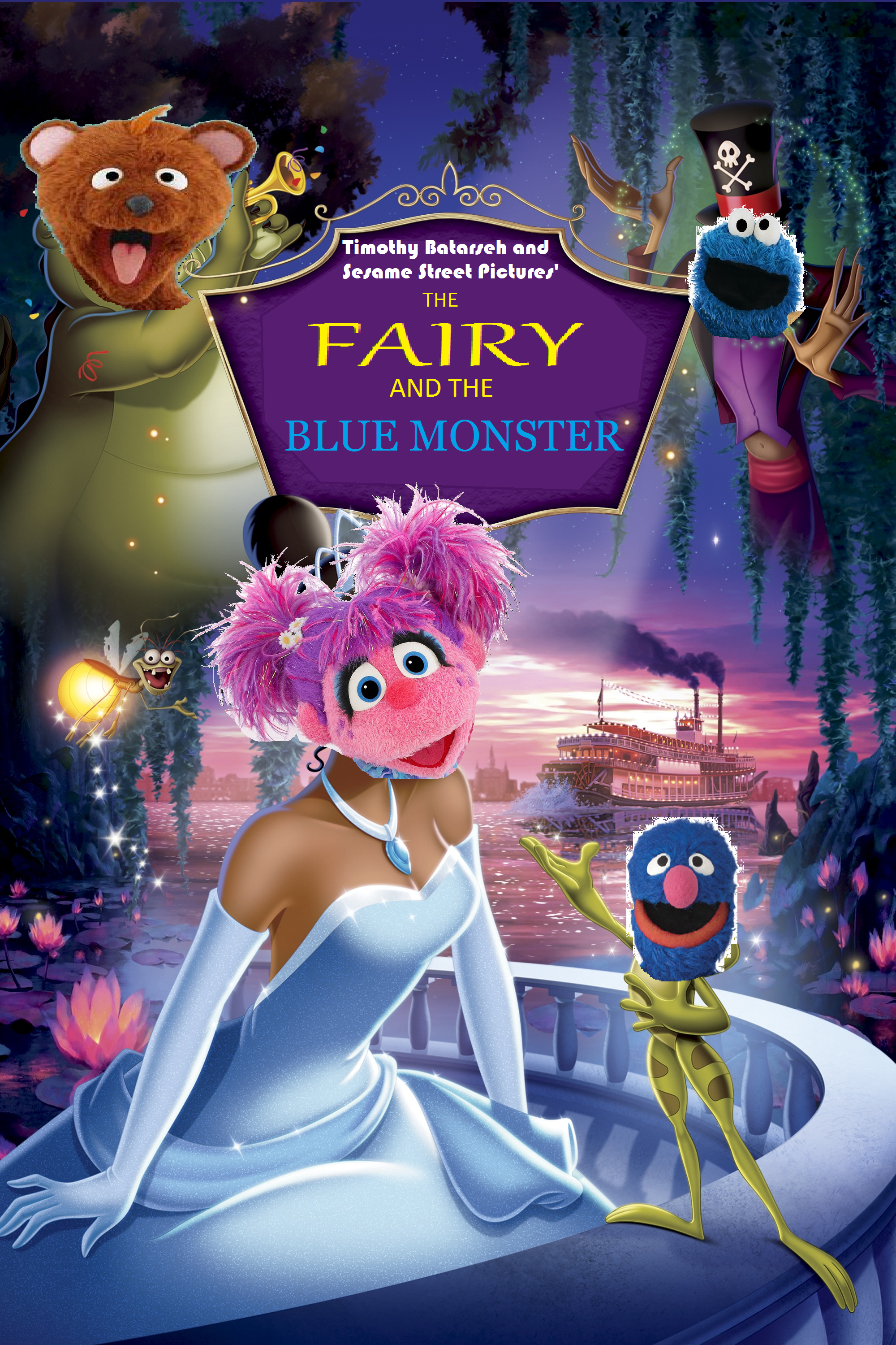 The Fairy and the Blue Monster