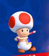 Toad in Mario Tennis Aces