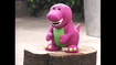 Barney Doll in Barney's Fun & Games