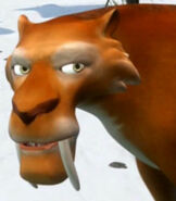 Diego in Ice Age Continental Drift - Arctic Games