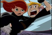 Kim Possible Carrying Ron Stoppable