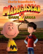 Madagascar Escape 2 Africa (Charlie BrownRockz Style) Poster