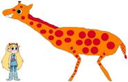 Star meets Rostchild's Giraffe