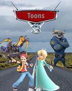 Toons 3 (Cars 3) (Gabriel Adam Pictures Style) Movie Poster
