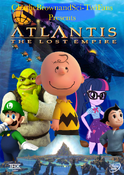 Atlantis (CharlieBrownandSci-TwiFans Style) The Lost Empire Poster