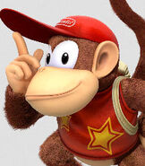 Diddy Kong in Donkey Kong Country - Tropical Freeze