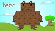 English Tree TV Bear