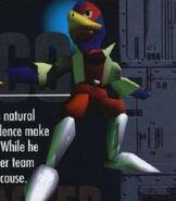 Falco in Star Fox 64