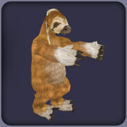 Giant Ground Sloth (Blue Fang)