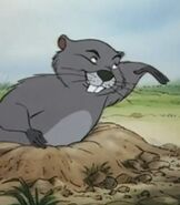 Gopher in The Many Adventures of Winnie the Pooh