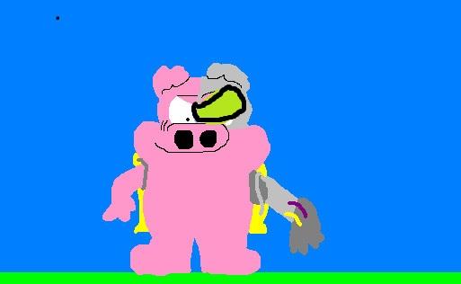Cyborg Pig