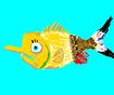SpongeBob as Yellow Tang