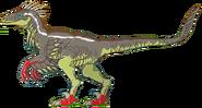 Velociraptor Math vs Dinosaurs