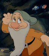 Bashful in Snow White and the Seven Dwarfs