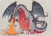 Dragon uary day 2 bryagh by alburning90-d9qafij