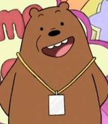 Grizz in We Bare Bears