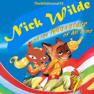 Nick Wilde and the Adventure of All Time Poster