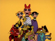 PPG Standing on Pile of Villains