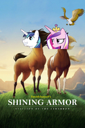 Shining Armor Stallion of the Cimarron (2002) Poster