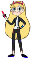 Star Butterfly as GoGo Tomago
