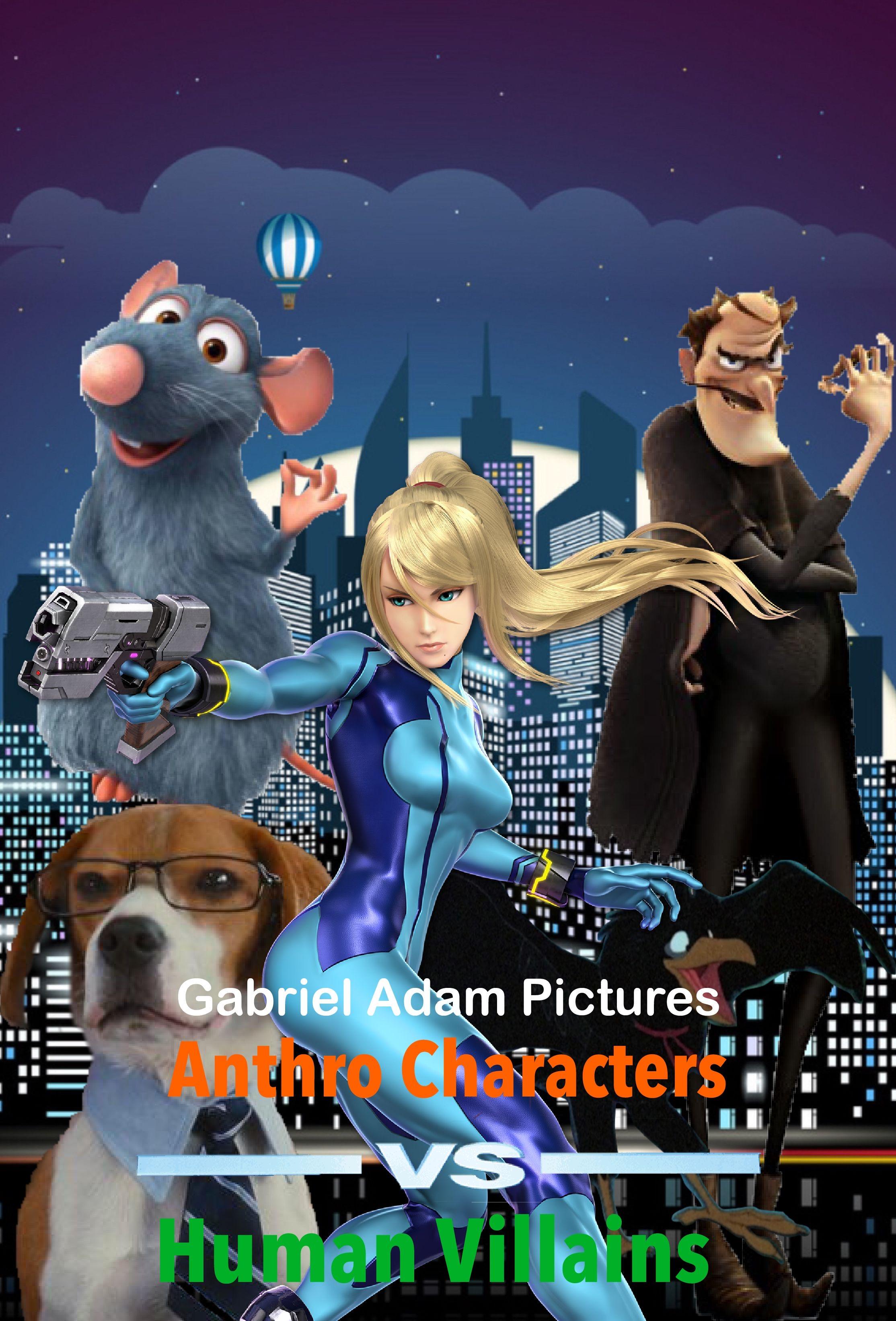 Anthro Characters VS. Human Villains (TV Series)