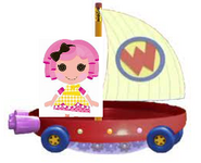 Crumbs Sugar Cookie Riding the Wonder Pets Flyboat