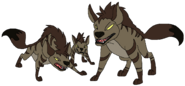 Hyenas thewildlifeland7