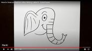 LetterToons Elephant