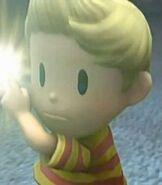Lucas in Super Smash Bros. Brawl