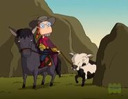 Cowgirl Eliza in Where the Gauchos Roam