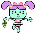 Daizy eating thomson grapes by dev catscratch-d2u463h