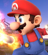Mario in Super Smash Bros. for Wii-U and 3DS